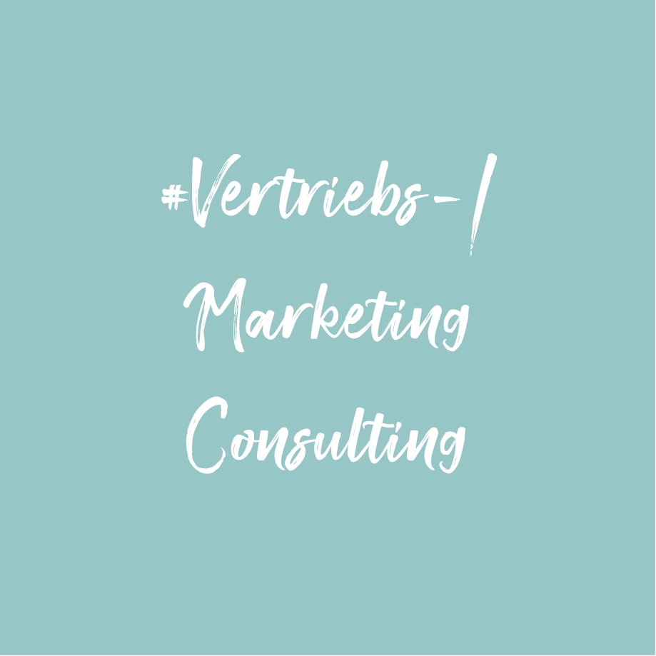 Vertriebs - & Marketing Consulting